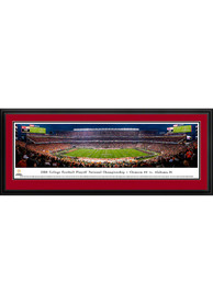 Alabama Crimson Tide 2018 College Football National Championship Game Deluxe Framed Posters