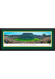 Oregon Ducks Football 50 Yard Line Deluxe Framed Posters