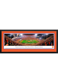 Clemson Tigers Football 50 Yard Line Deluxe Framed Posters