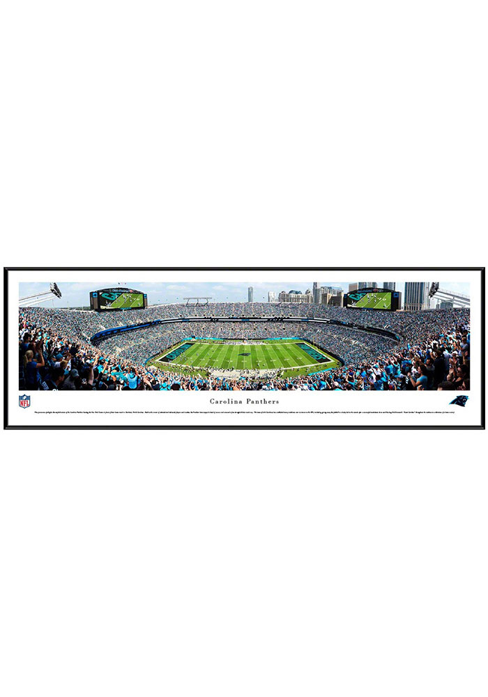 Carolina Panthers Football Standard Framed Posters - Image 1
