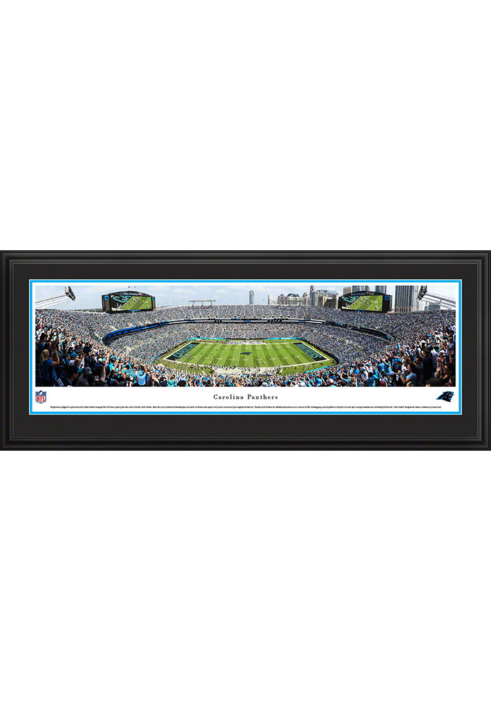 Carolina Panthers Football Deluxe Framed Posters - Image 1