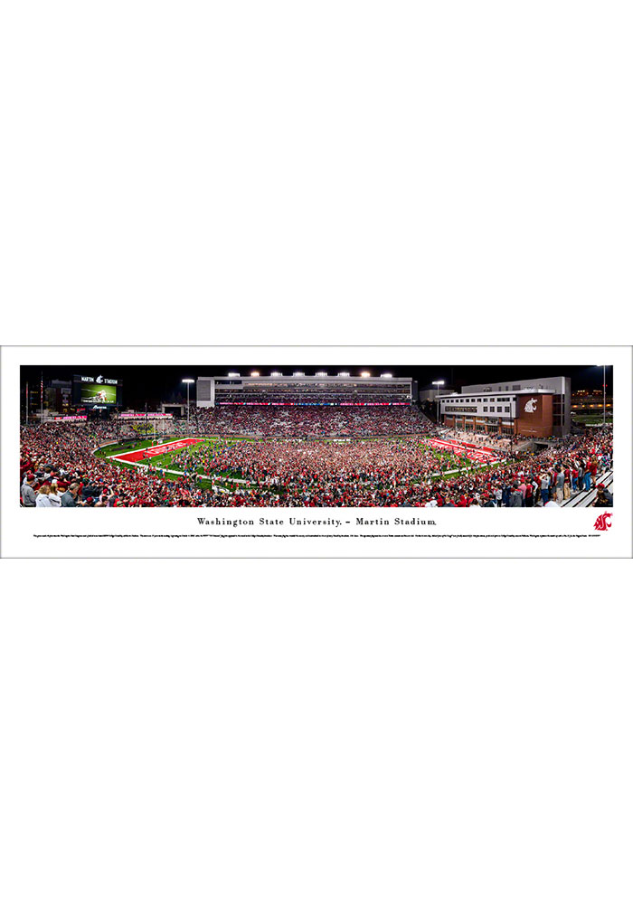 Washington State Cougars Football Unframed Poster - Image 1