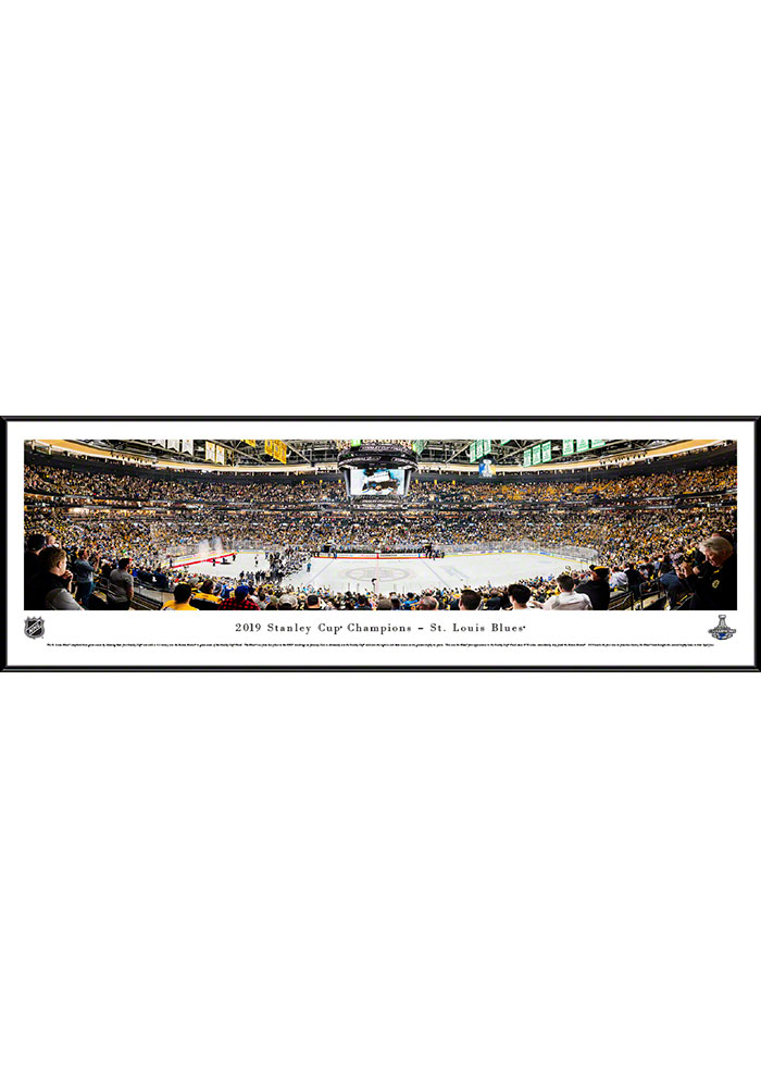 St Louis Blues 2019 Stanley Cup Champions Standard Framed Posters - Image 1