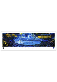 St Louis Blues 2021 Stanley Cup Banner Raising Unframed Poster