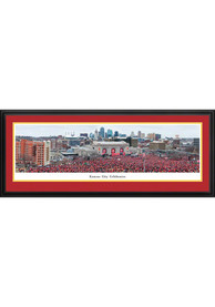 Kansas City Chiefs Sea of Red Celebration Deluxe Framed Posters