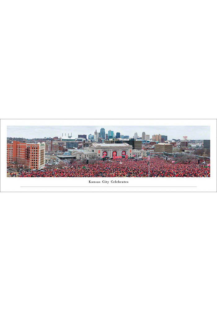 Kansas City Chiefs Tubed Unframed Poster - Image 1