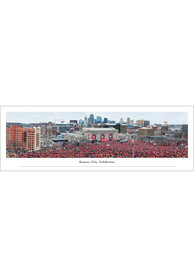 Kansas City Chiefs Sea of Red Celebration Unframed Poster