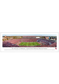 Oklahoma Sooners Panorama Deluxe Unframed Poster
