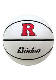 Rutgers Scarlet Knights Official Team Logo Autograph Basketball
