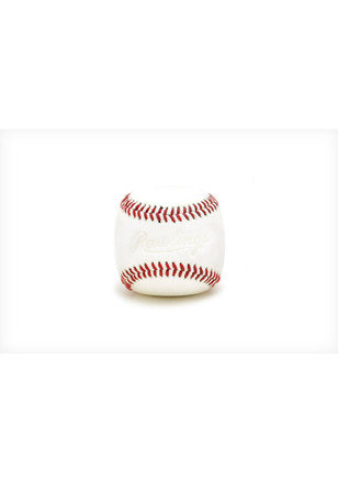 White Baseball Paper Weight