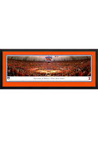 Illinois Fighting Illini State Farm Center Deluxe Framed Posters