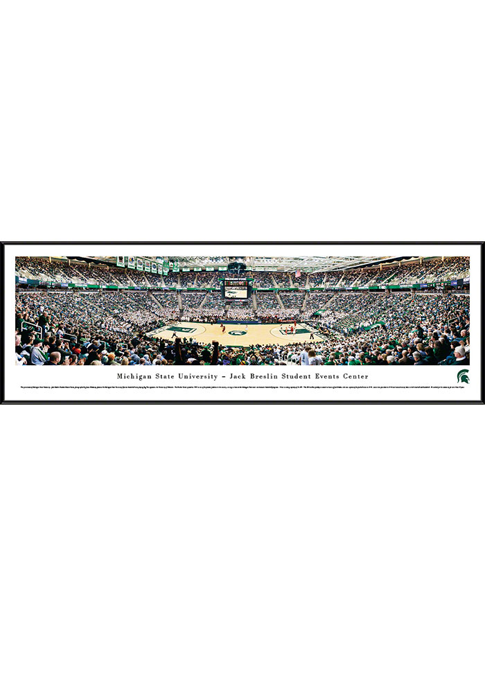 Michigan State Spartans Breslin Center Standard Framed Posters - Image 1