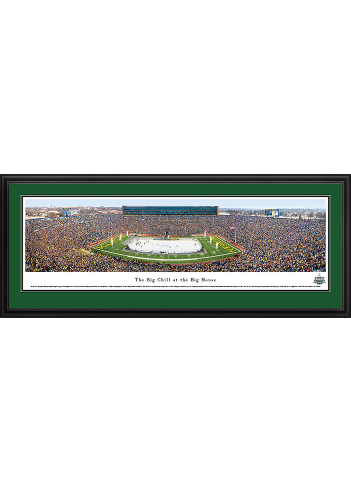 Michigan State Spartans v. Michigan The Big Chill...Deluxe Framed Posters - Image 1