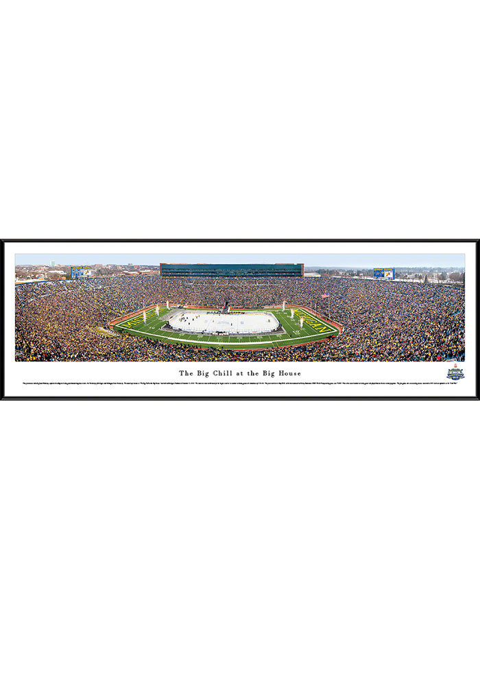 Michigan Wolverines v. Michigan State The Big Chill...Standard Framed Posters - Image 1