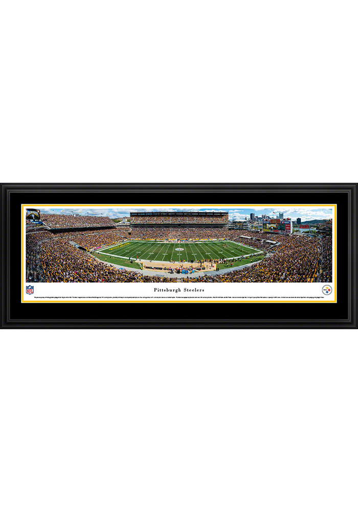 Pittsburgh Steelers Heinz Field Stadium Deluxe Framed Posters - Image 1
