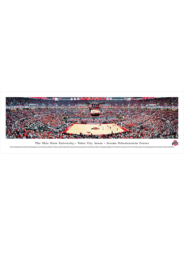 Ohio State Buckeyes Value City Arena- Jerome Schottenstein Center Tubed Unframed Poster - Image 1