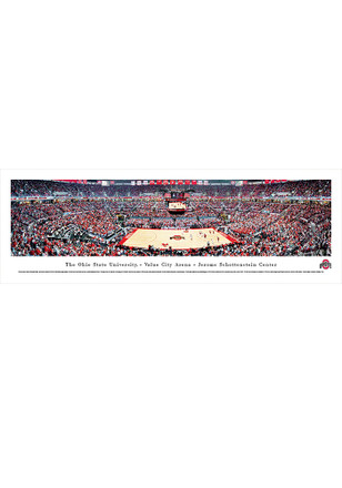 Ohio State Buckeyes Value City Arena- Jerome Schottenstein Center Tubed Unframed Poster