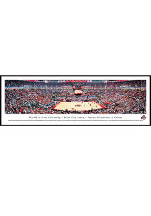 Ohio State Buckeyes Value City Arena- Jerome Schottenstein Center Standard Framed Posters
