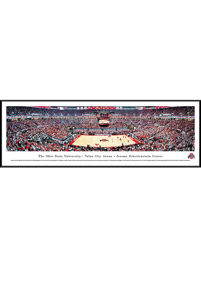 Ohio State Buckeyes Value City Arena- Jerome Schottenstein Center Standard Framed Posters - Image 1