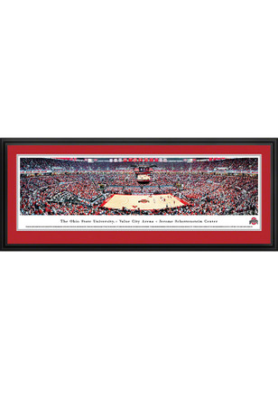 Ohio State Buckeyes Value City Arena- Jerome Schottenstein Center Deluxe Framed Posters