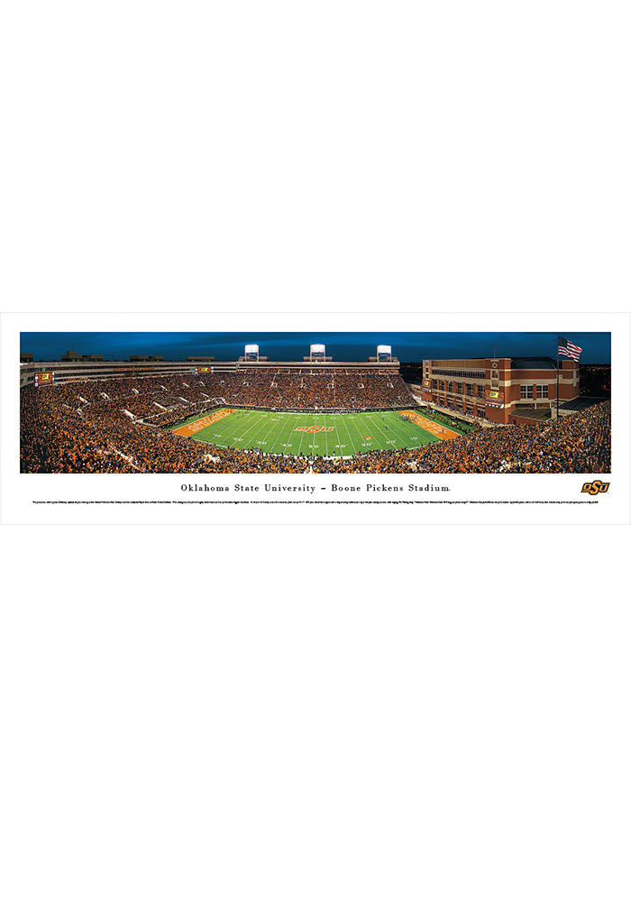 Oklahoma State Cowboys Boone Pickens Stadium Tubed Unframed Poster - Image 1