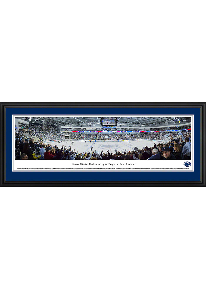 Penn State Nittany Lions Pegula Ice Arena Deluxe Framed Posters - Image 1