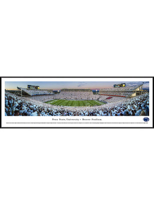 Penn State Nittany Lions Beaver Stadium White Out Standard Framed Posters