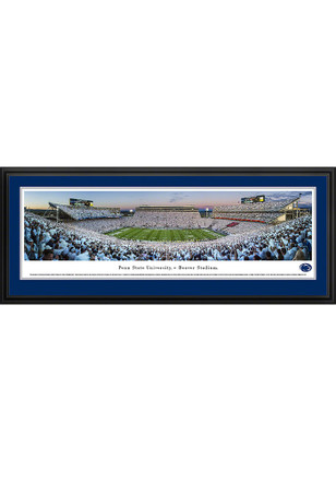 Penn State Nittany Lions Beaver Stadium White Out Deluxe Framed Posters