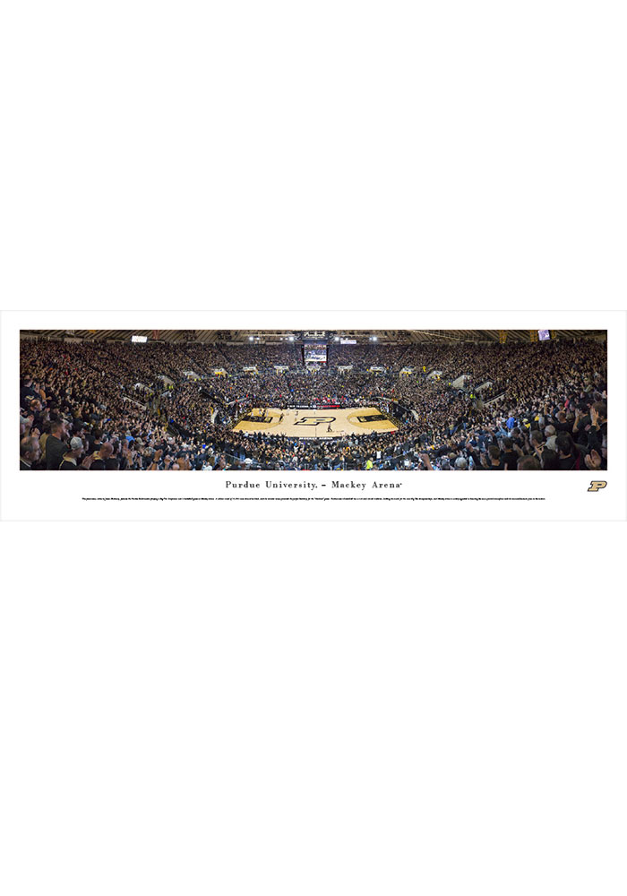 Purdue Boilermakers Mackey Arena Tubed Unframed Poster - Image 1