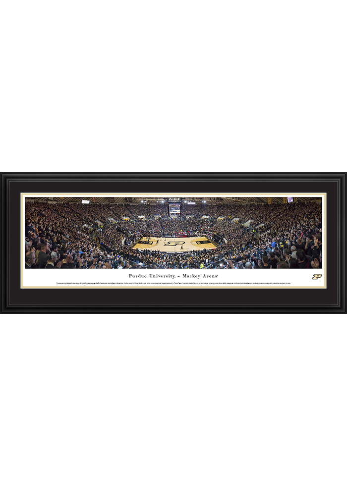 Purdue Boilermakers Mackey Arena Deluxe Framed Posters - Image 1