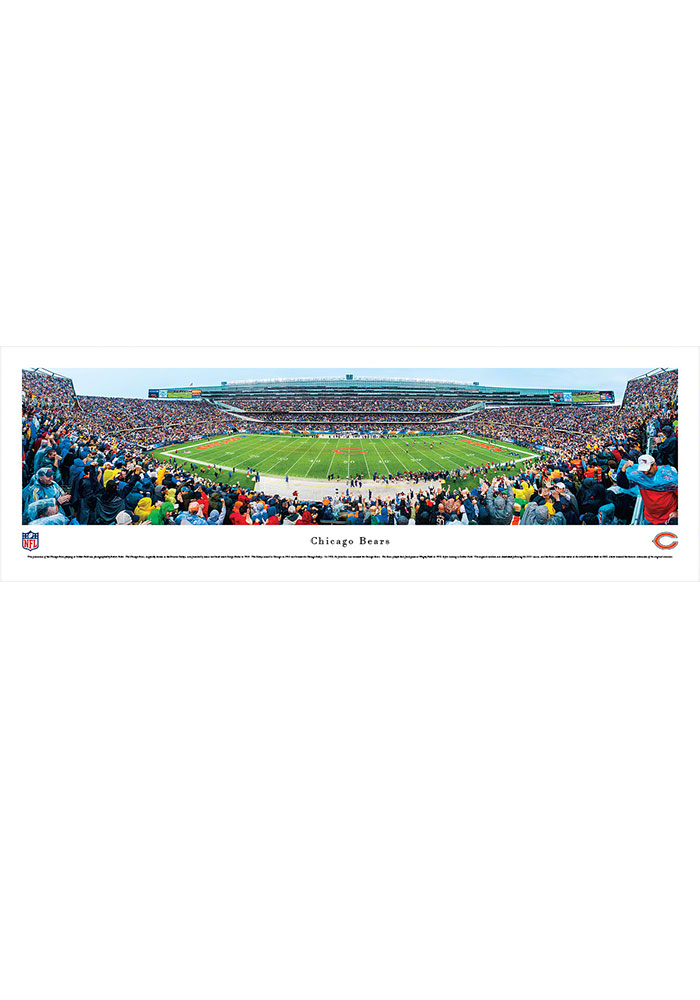 Chicago Bears Soldier Field Stadium Pano Unframed Poster - Image 1