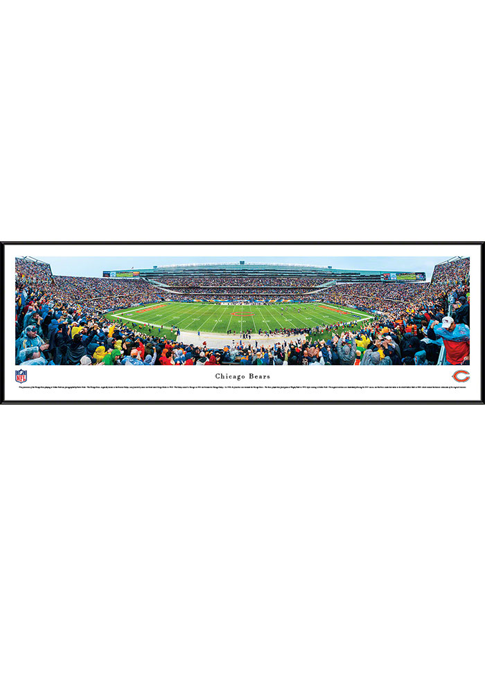 Chicago Bears Soldier Field Stadium Standard Framed Posters - Image 1