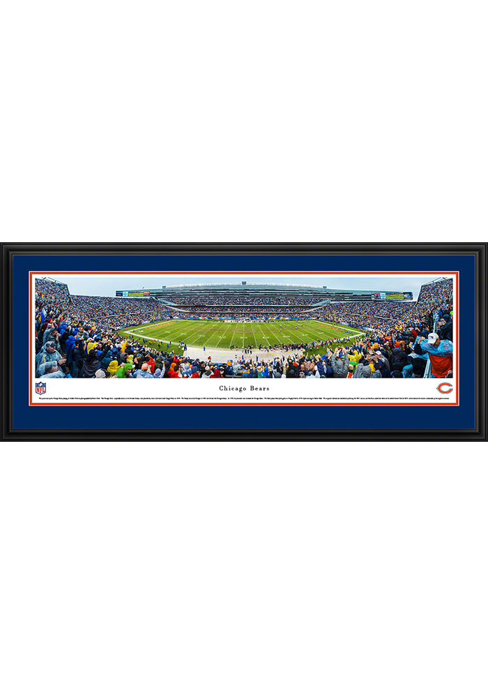 Chicago Bears Soldier Field Stadium Deluxe Framed Posters - Image 1