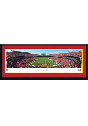Kansas City Chiefs Arrowhead Stadium Endzone Deluxe Framed Posters