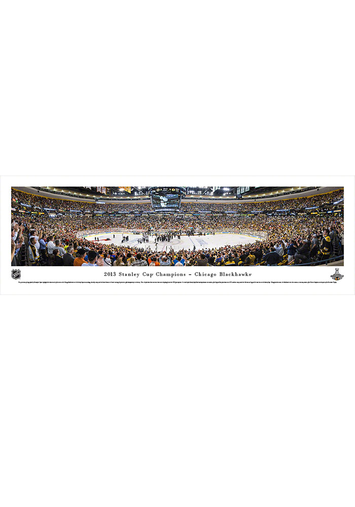 Chicago Blackhawks 2013 Stanley Cup Champions Tubed Unframed Poster 16630363