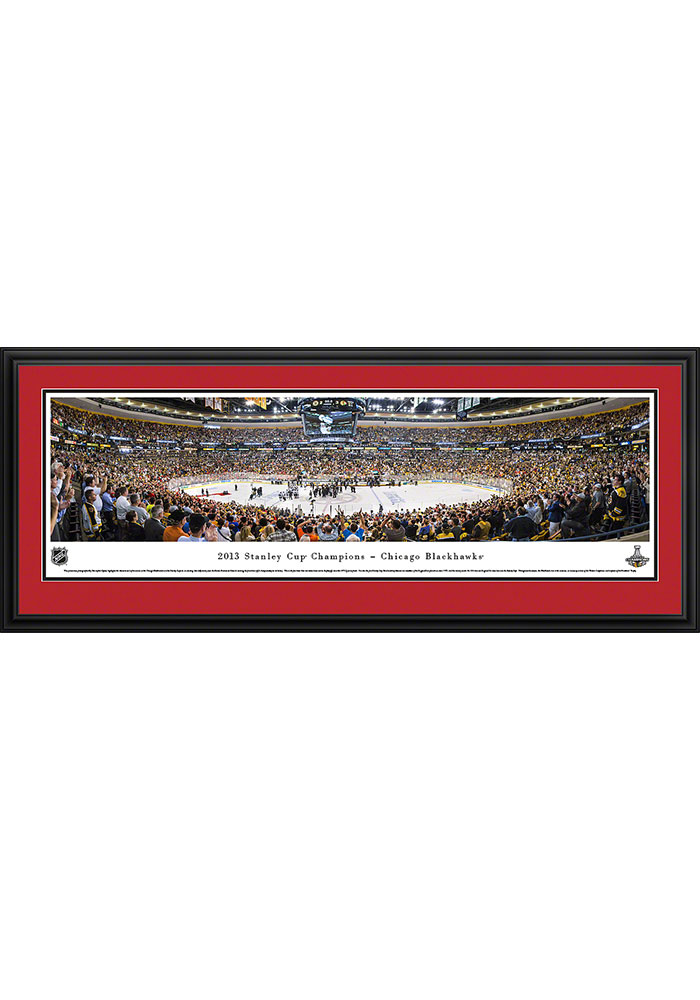Chicago Blackhawks 2013 Stanley Cup Champions Deluxe Framed Posters 16630365