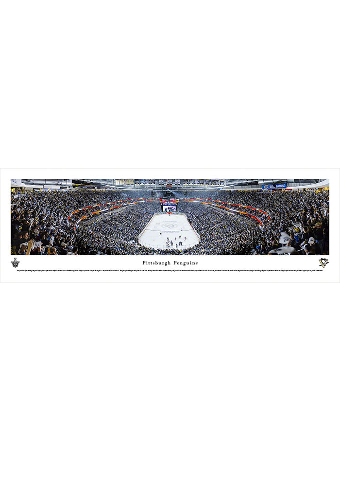 Pittsburgh Penguins Consol Energy Center Side View Tubed Unframed Poster - Image 1