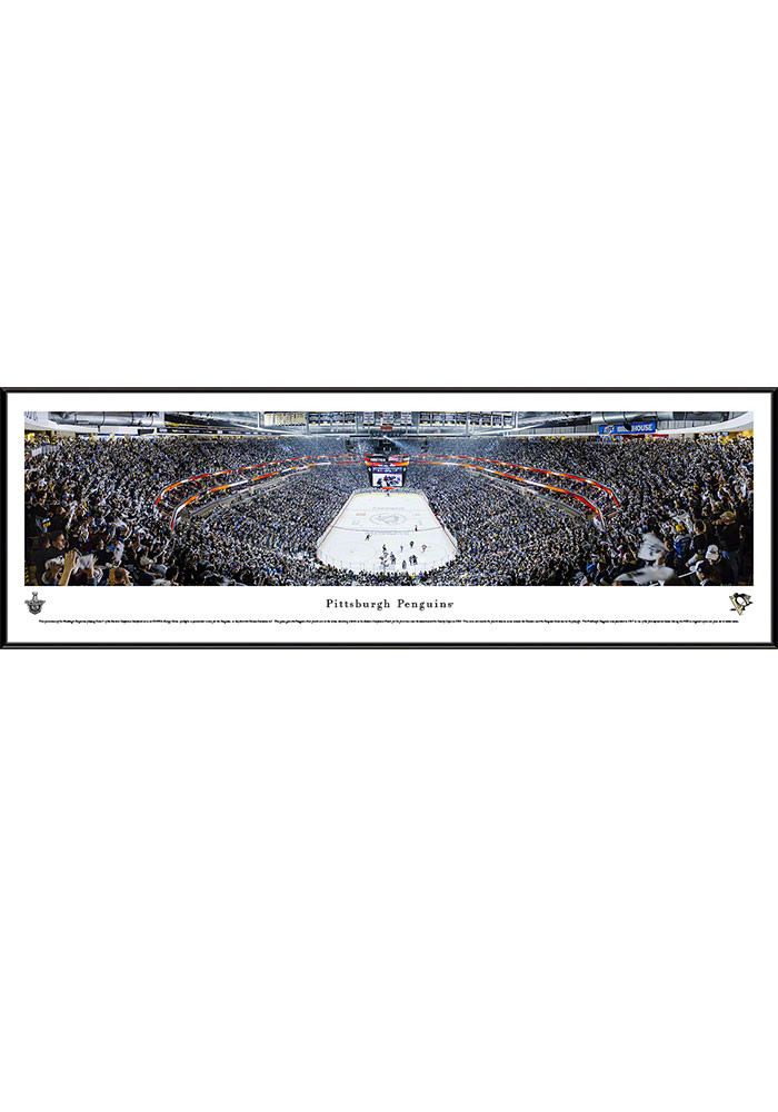 Pittsburgh Penguins Consol Energy Center Side View Standard Framed Posters - Image 1