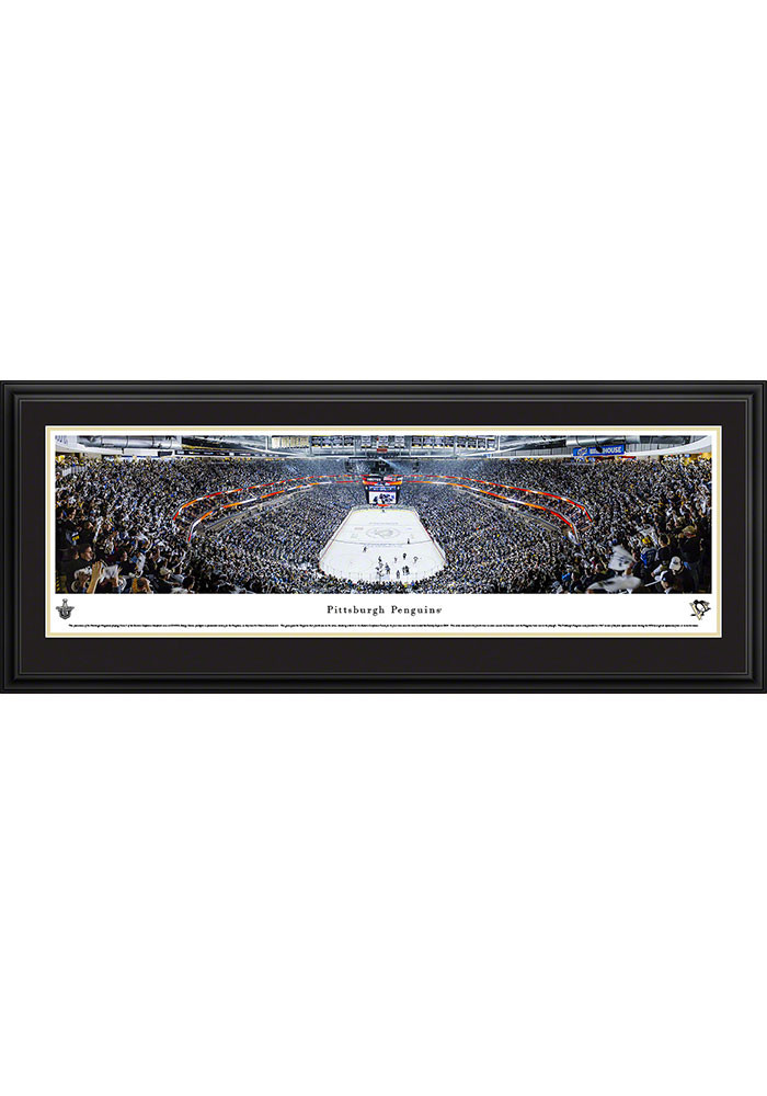 Pittsburgh Penguins Consol Energy Center Side View Deluxe Framed Posters - Image 1