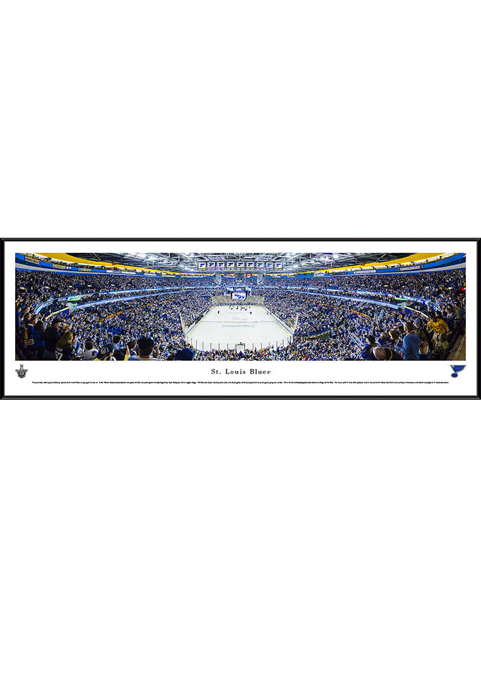St Louis Blues Scottrade Center Side View Standard Framed Posters - Image 1