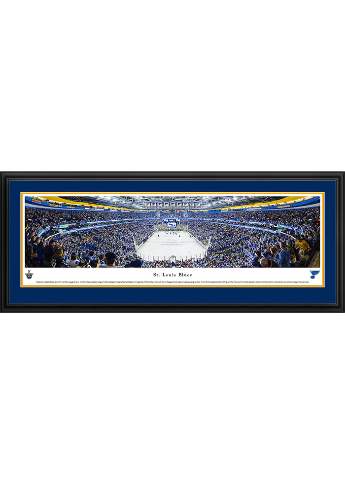 St Louis Blues Scottrade Center Side View Deluxe Framed Posters - Image 1