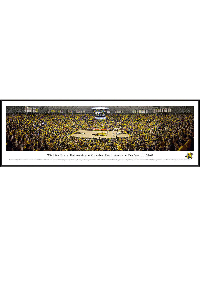 Wichita State Shockers Charles Koch Arena Standard Framed Posters - Image 1