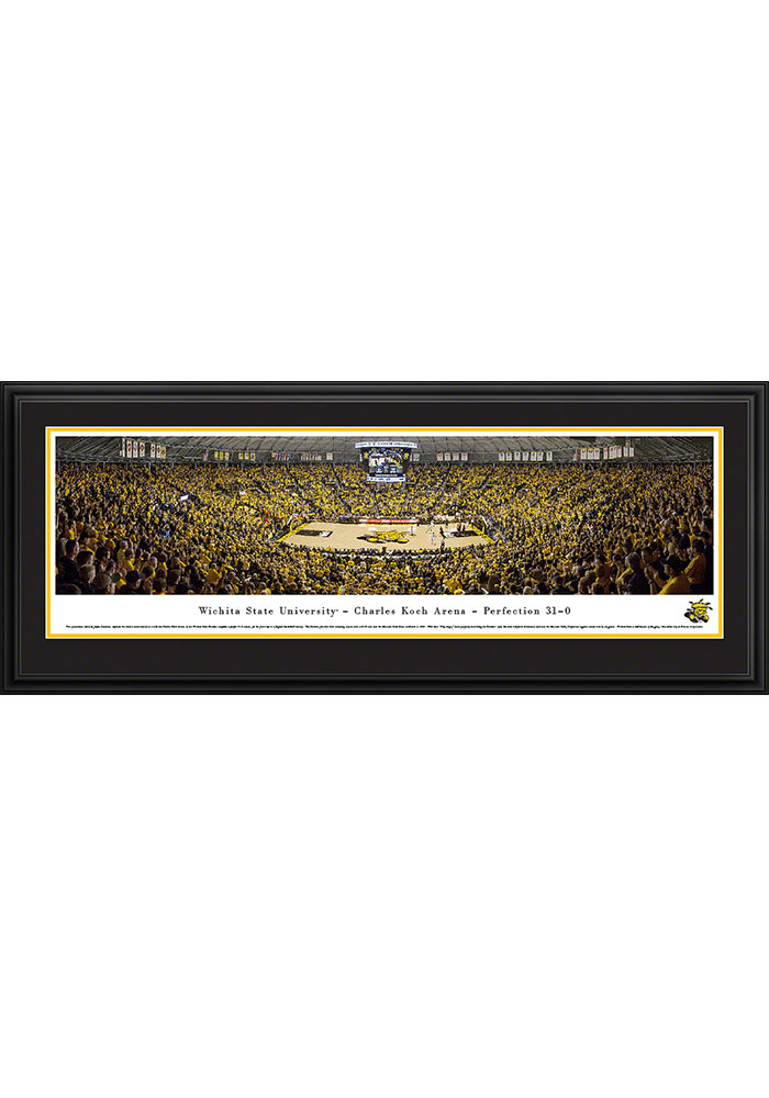 Wichita State Shockers Charles Koch Arena Deluxe Framed Posters - Image 1