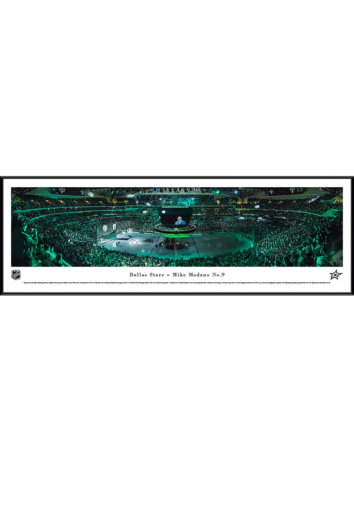 Dallas Stars Mike Modano Panorama Framed Posters 16630466