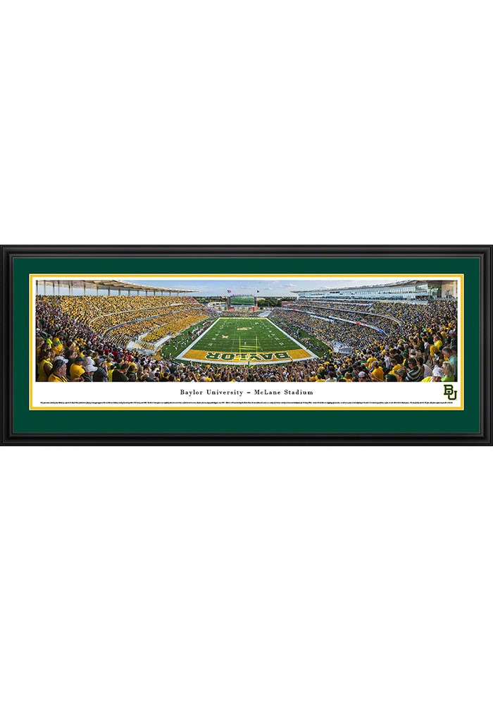 Baylor Bears McLane Stadium Deluxe Framed Posters - Image 1