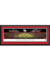 Rutgers Scarlet Knights High Point Solutions Stadium Big 10 Deluxe Framed Posters