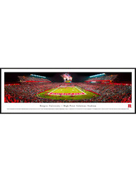 Rutgers Scarlet Knights High Point Solutions Stadium Big 10 Standard Framed Posters