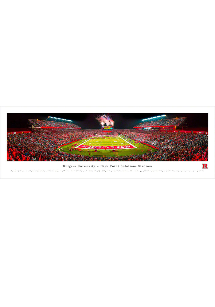 Rutgers Scarlet Knights High Point Solutions Stadium Big 10 Tubed Unframed Poster - Image 1