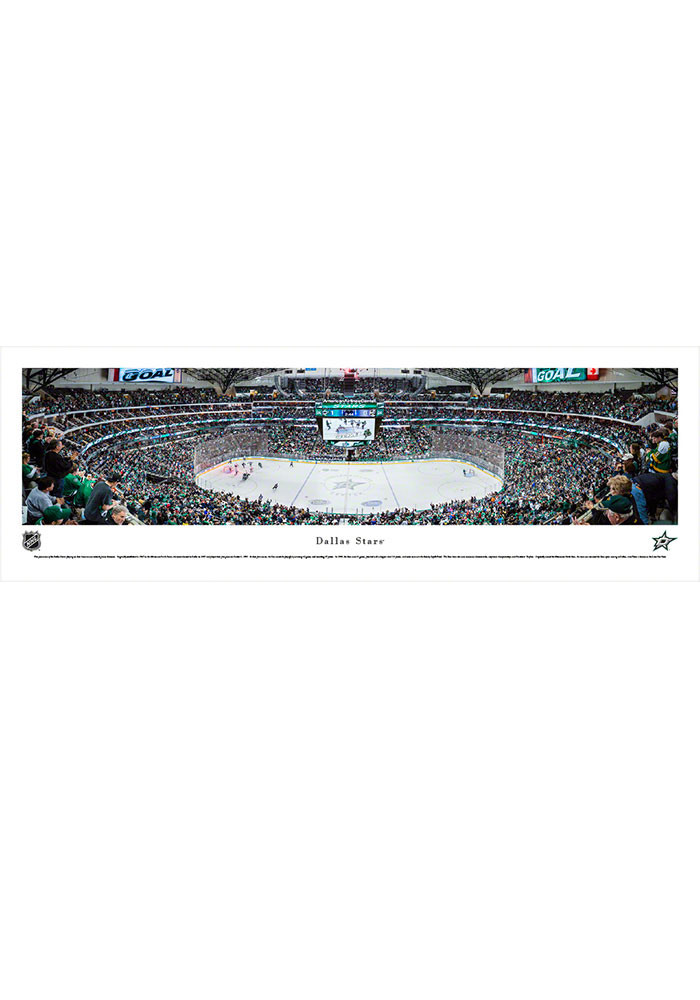 Dallas Stars American Airlines Center Tubed Unframed Poster - Image 1