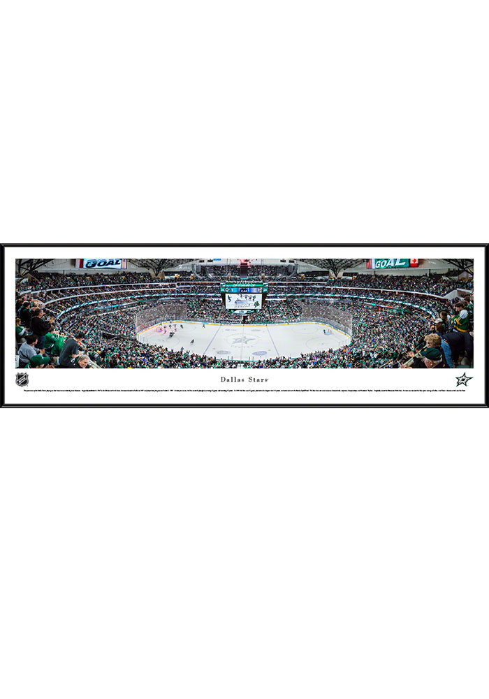 Dallas Stars American Airlines Center Standard Framed Posters - Image 1